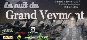 Nuit du Grand Veymont 2017 - 23km